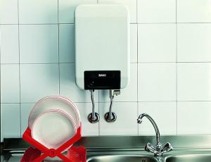 Оборудование системы водоснабжения: проточные водонагреватели